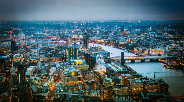View from the Shard London Photo by Sebastian Fiebak