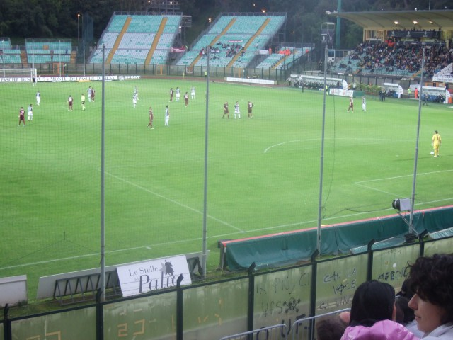 Soccer game in Siena Photo by Margie Miklas