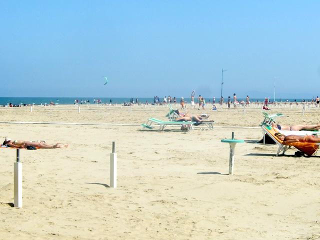 Rimini beach Photo by Margie Miklas