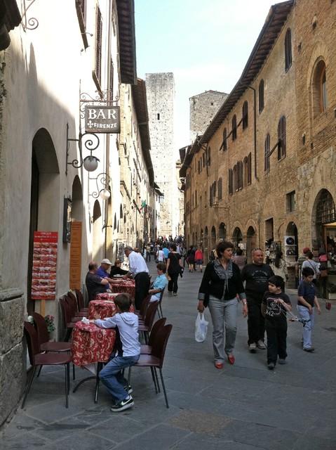 People San Gimignano Photo by Margie Miklas