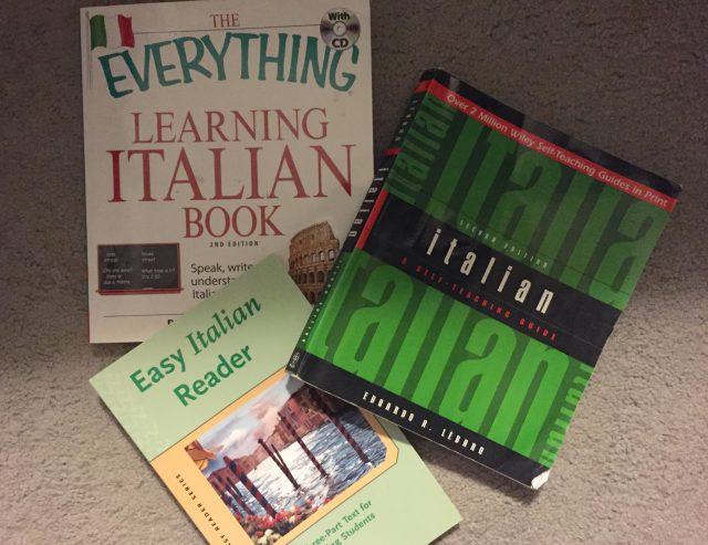 Italian language books