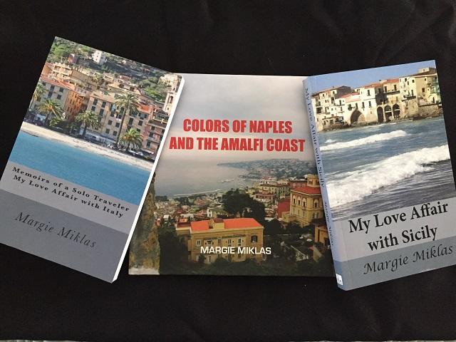 Margie's books 640 Photo by Margie Miklas