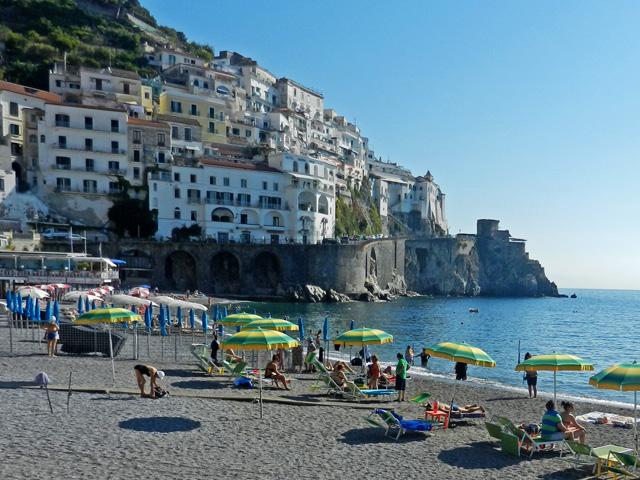 The Beach at Amalfi