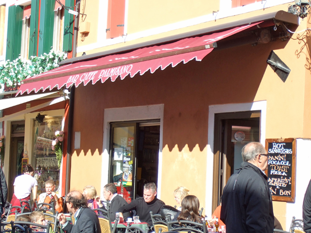 Burano Bar Palmisano photo by Margie Miklas