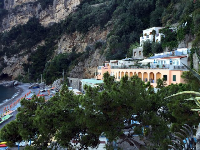 Hotel Pupetto in Positano Pghoto by Margie Miklas