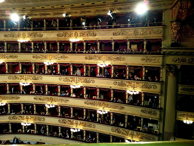Italy Travel Planning – Milan's La Scala Opera