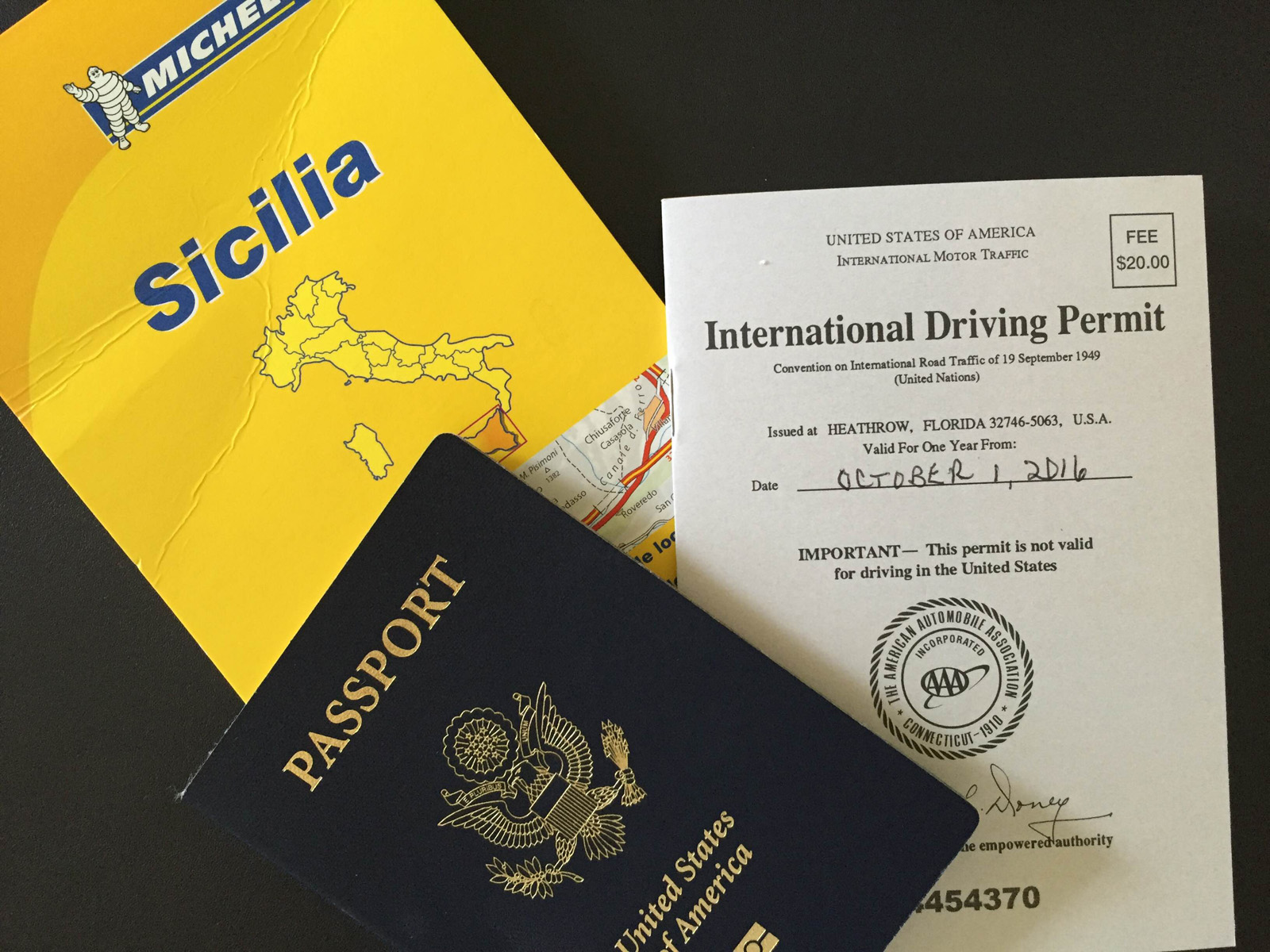 Headed to Sicily – Travel Plans