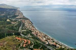 Savoca view of coastline Photo by Margie Miklas