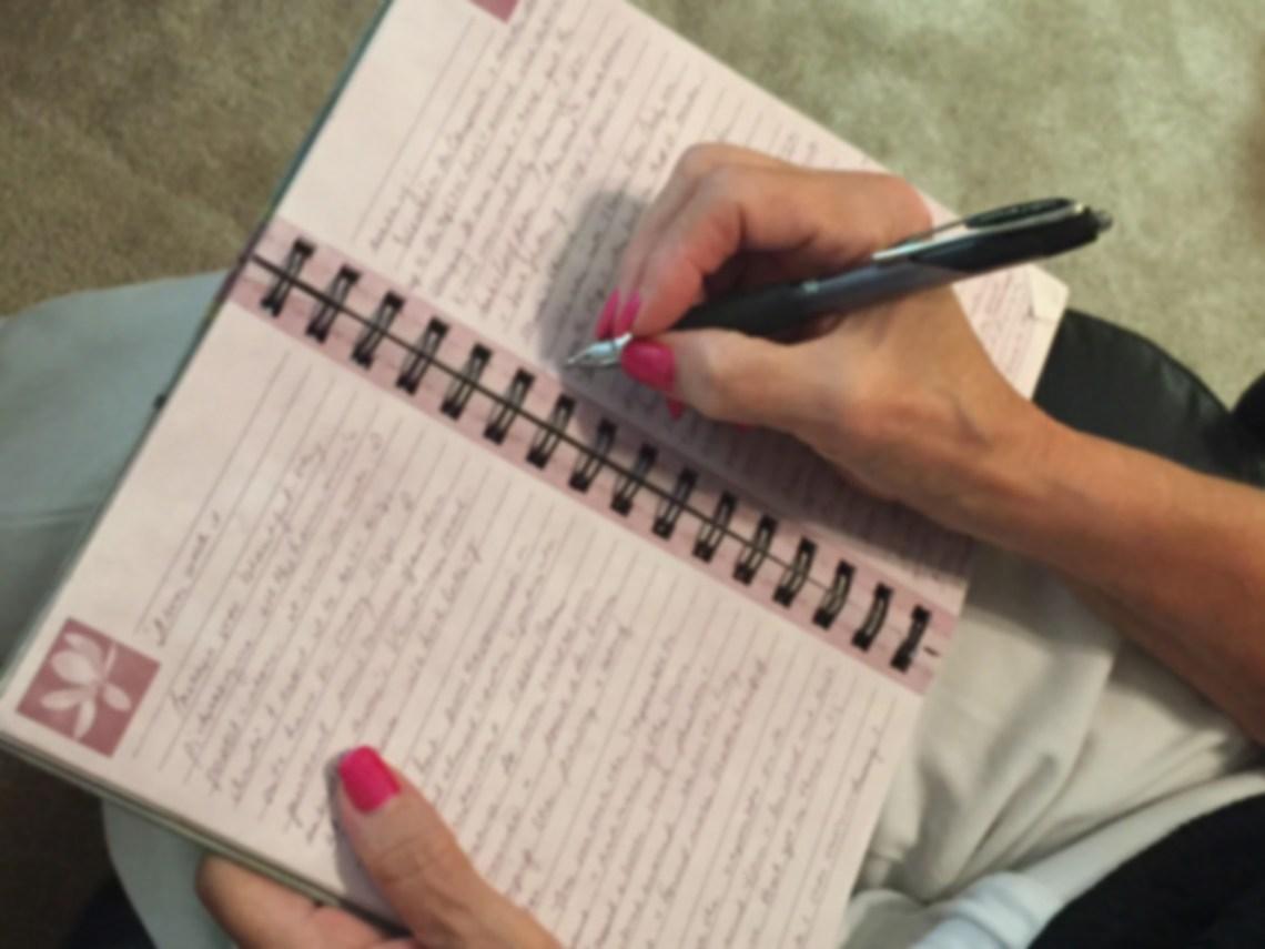 Margie writing process Photo by Margie Miklas