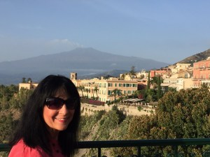 View from Hotel Villa Schuler in Taormina Photo by Margie Miklas