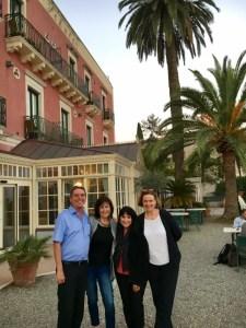 Hotel Villa Schuler with Mr and Mrs Schuler
