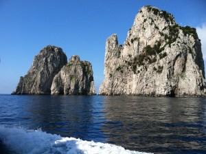 Faraglioni Rocks at Capri Photo by Margie Miklas