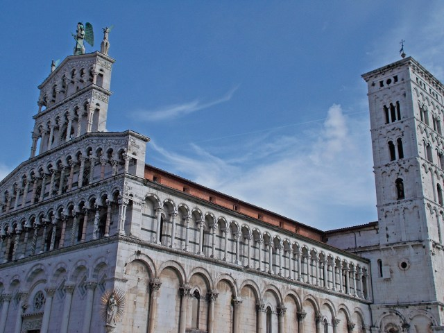 San Michele in Foro Church in Lucca Photo by Margi Miklas