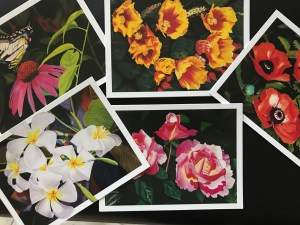 Pastel note cards Art by Ralph Patton Photo by Margie Miklas