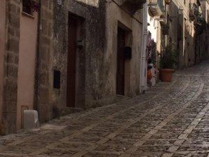 On the streets of Erice in Sicily Photo by Magie Miklas