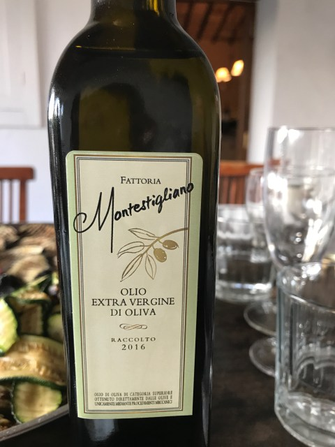 Montestigliano olive oil Photo by Margie Miklas
