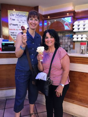 Daniela and Margie Gelato