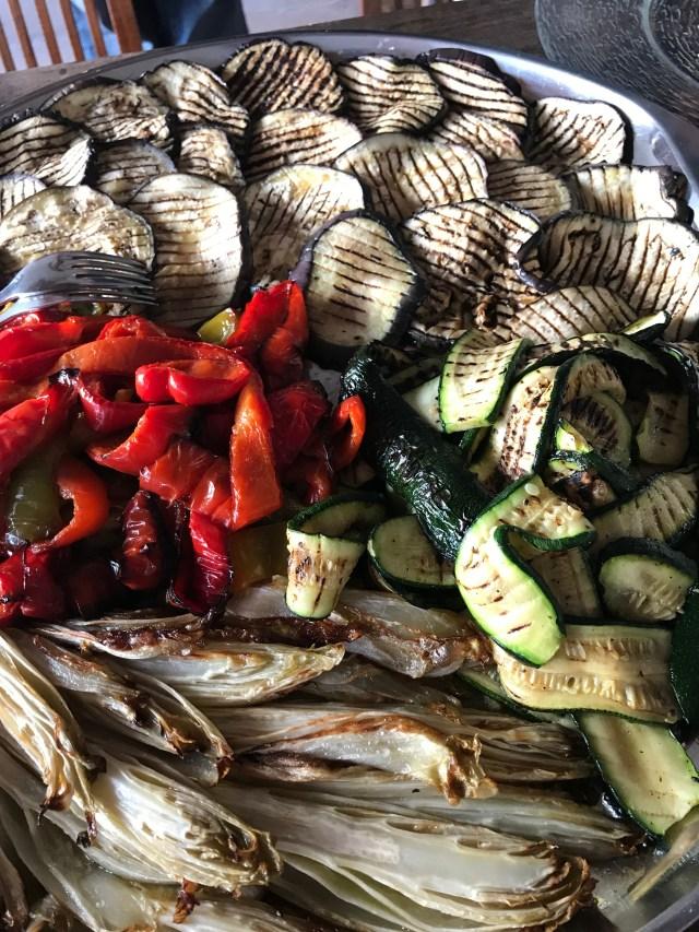 Grilled vegeatbles Photo by Margie Miklas