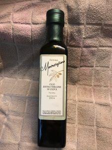 Montestigliano olive oil Photo by Margie Miklas