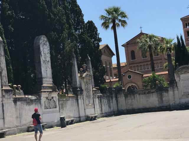 Rome walls Photo by Margie Miklas