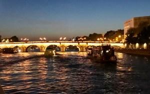 Impressions of Paris Seine River cruise photo by Margie Miklas