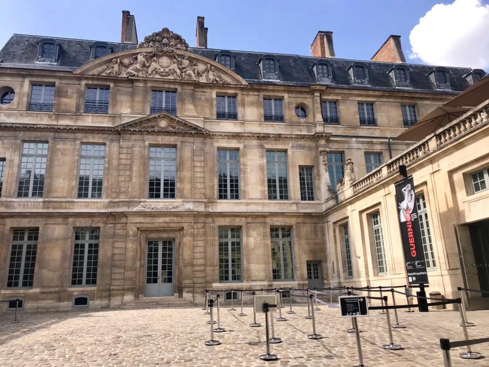 Picasso Museum in Paris photo by Margie Miklas
