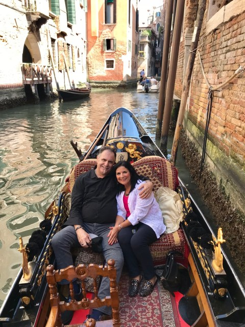 Romantic gondola ride in Venice Photo by Margie Miklas