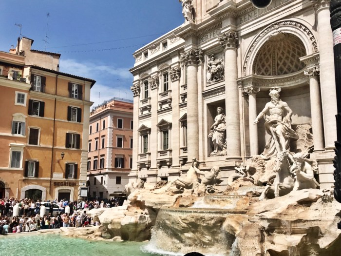 Trevi Fountain photo by Margie Miklas