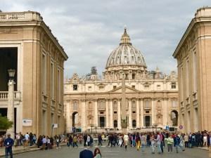 Rome Vatican photo by Margie Miklas