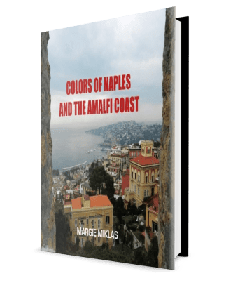 Book Cover Colors of Naples 3d