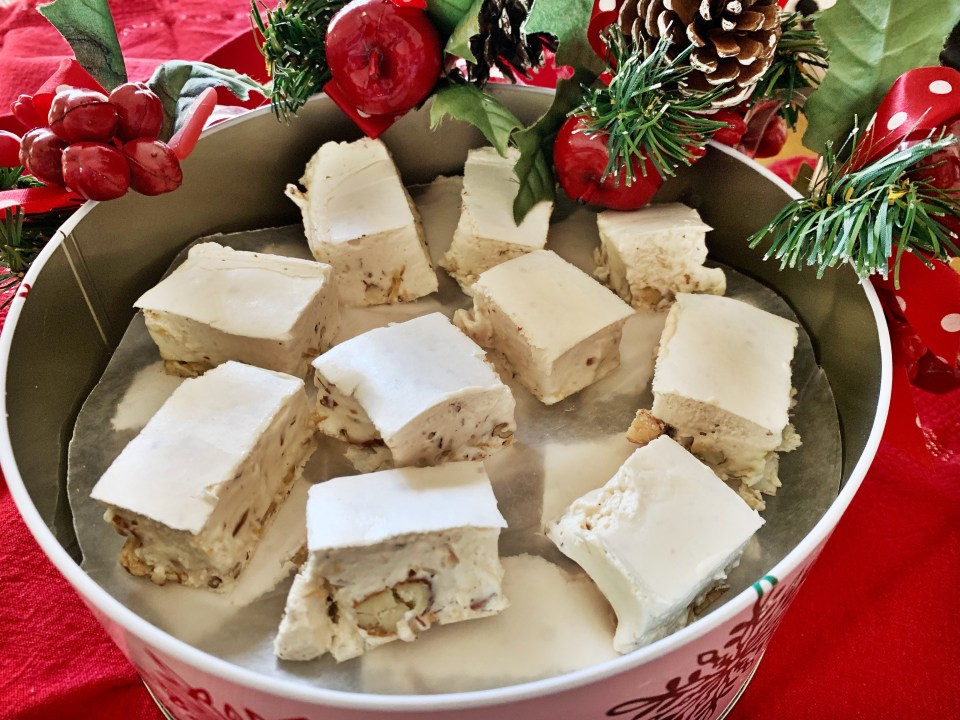 Torrone Candy at Christmas Photo by Margie Miklas