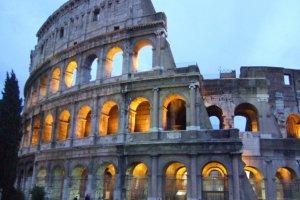 Coliseum in Rome photo Margie Miklas