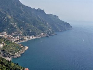 View of Amalfi Coast from Ravello Photo by Margie Miklas