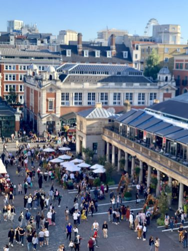 Covent Garden London Photo by Margie Miklas