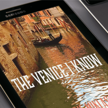 New Audiobook Release – The Venice I Know