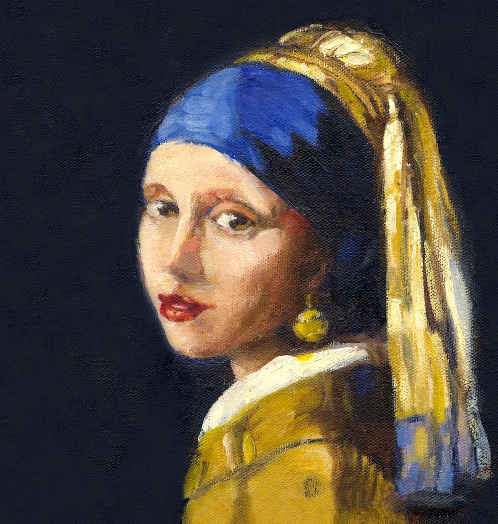 "Vermeer ""girl With The Pearl Earring"""