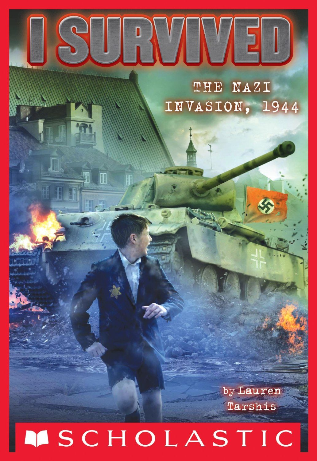 I Survived the Nazi Invasion 1944 Book Cover