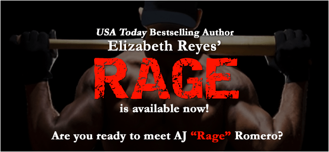Release Day Blast! RAGE by Elizabeth Reyes