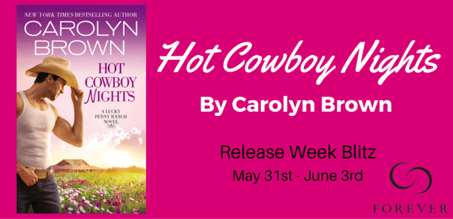 Hot Cowboy Nights by Carolyn Brown (Lucky Penny Ranch #2) Author Interview & GIVEAWAY!