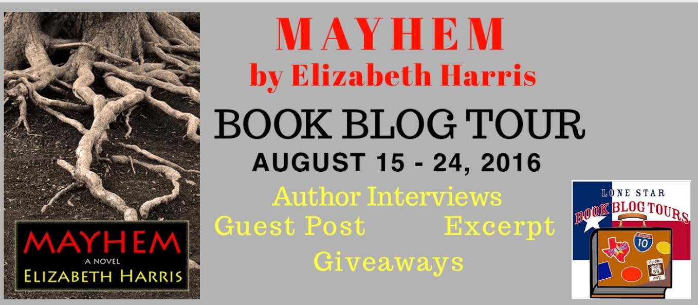 MAYHEM Three Lives of a Woman by Elizabeth Harris