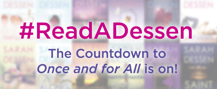 #ReadADessen! Countdown to Once and For All!