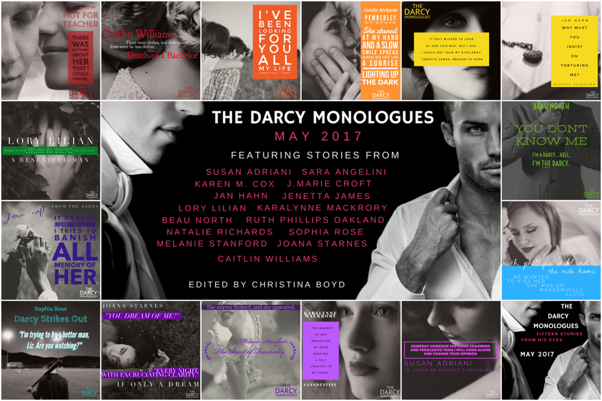 The Darcy Monologues edited by Christina Boyd