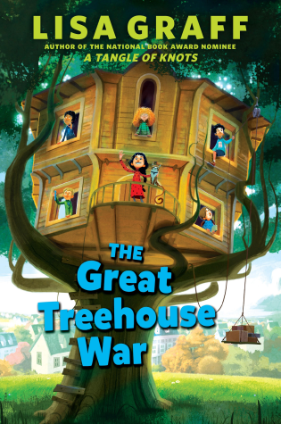 Treehouse War by Lisa Graff