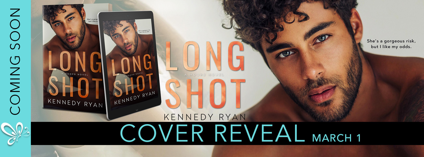 COVER REVEAL! Long Shot by Kennedy Ryan