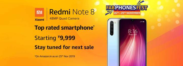 Redmi Note 8 Sales Offers