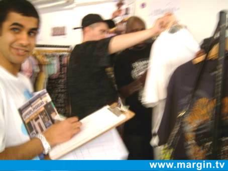 MARGIN LONDON AUGUST 2007 + UPPER PLAYGROUND, LIFEPOD, DAVID & GOLIATH + SIESTA UK