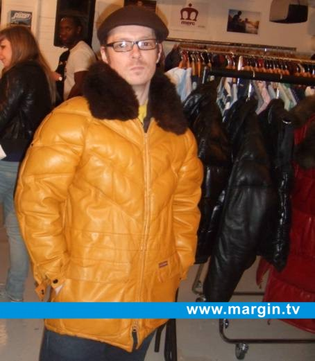 The Herbaliser wearing Double Goose at Margin London February 2008