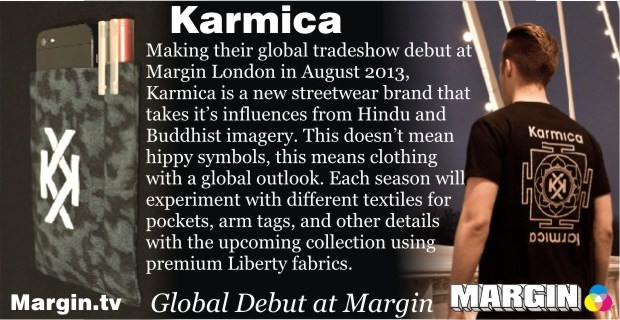 August 2013 Preview + Karmica at Margin London
