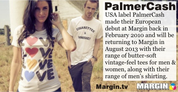 previews AUG 2013 palmer cash at margin london