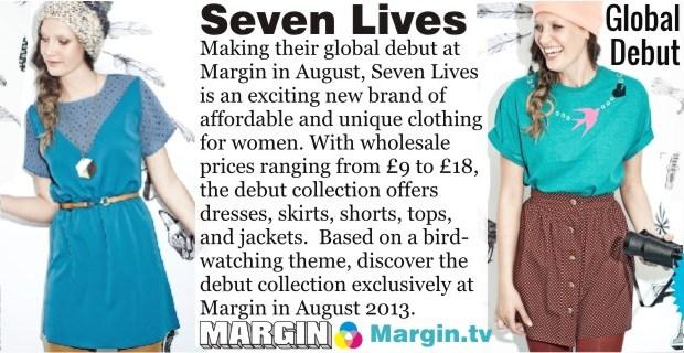 previews AUG 2013 seven lives at Margin London